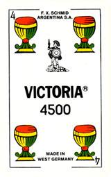 Naipes Victoria 4500