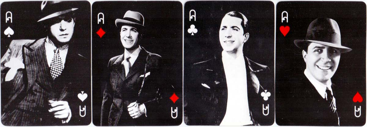 'Black Tango' playing cards published by Gardés Editorial, 2003