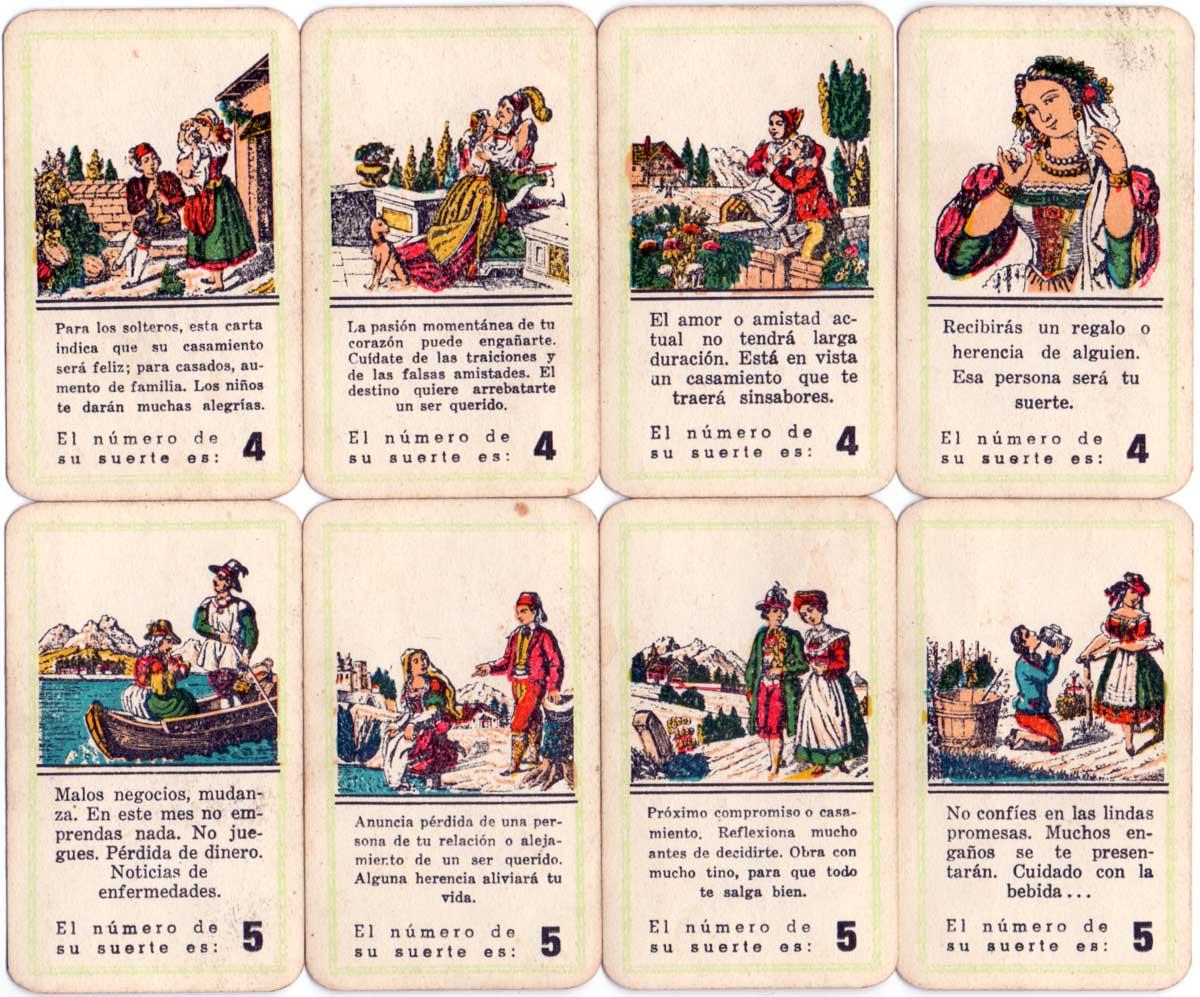 Cartas Gitanas, Vigor S.A.C e I, c.1960