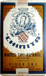 Naipes CHINITA, c.1955