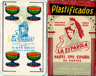 Naipes La Española c.1965