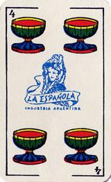 Naipes La Española made by Gráfica S.A. c.1975