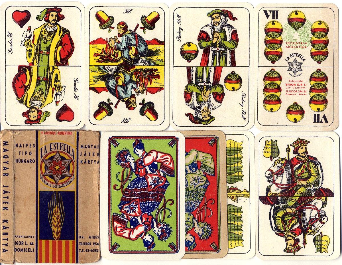Naipes Tipo Húngaro, c.1958