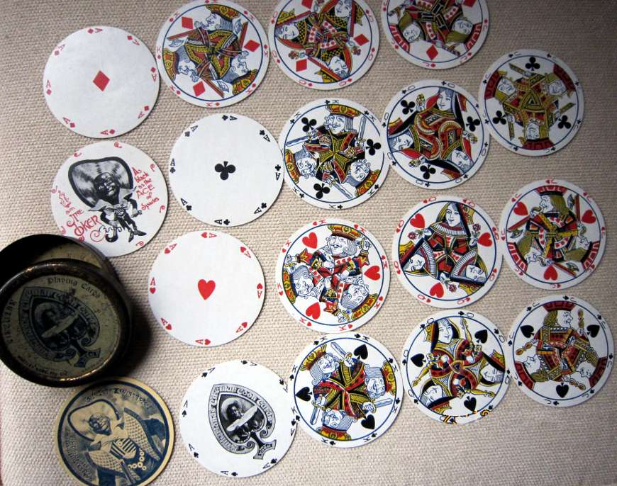 Sutherland's Circular Coon Cards, c.1880