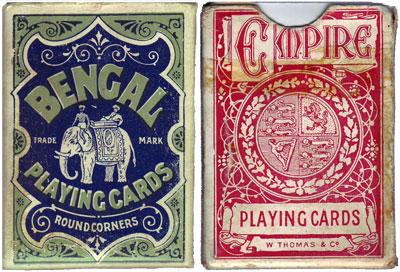 """""""W Thomas & Co"""" boxes, c.1900-1910"""