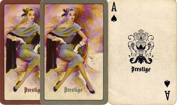 """Prestige"" playing cards, 1950s"