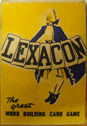 'Lexacon' word building game from Australia