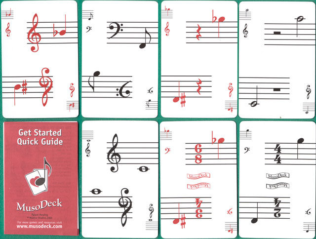 playing cards for musicians