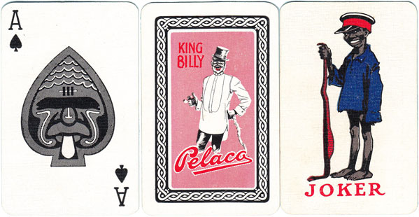 'Pelaco' playing cards by Sands & McDougall, c.1930
