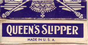 Queen's Slipper decks made by Brown & Bigelow, 1979/80