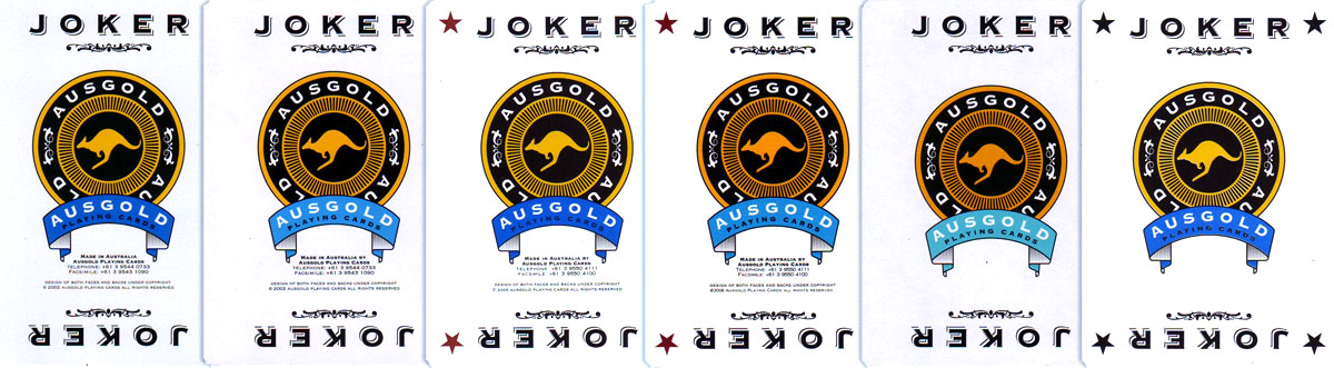 "Jokers from ""Ausgold"" by SNP Ausprint Pty Ltd"