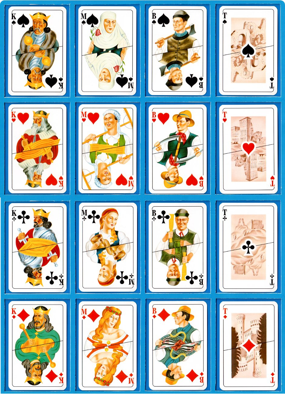 Lithuanian Playing Cards, reprinted by Piatnik, 1995, 2004