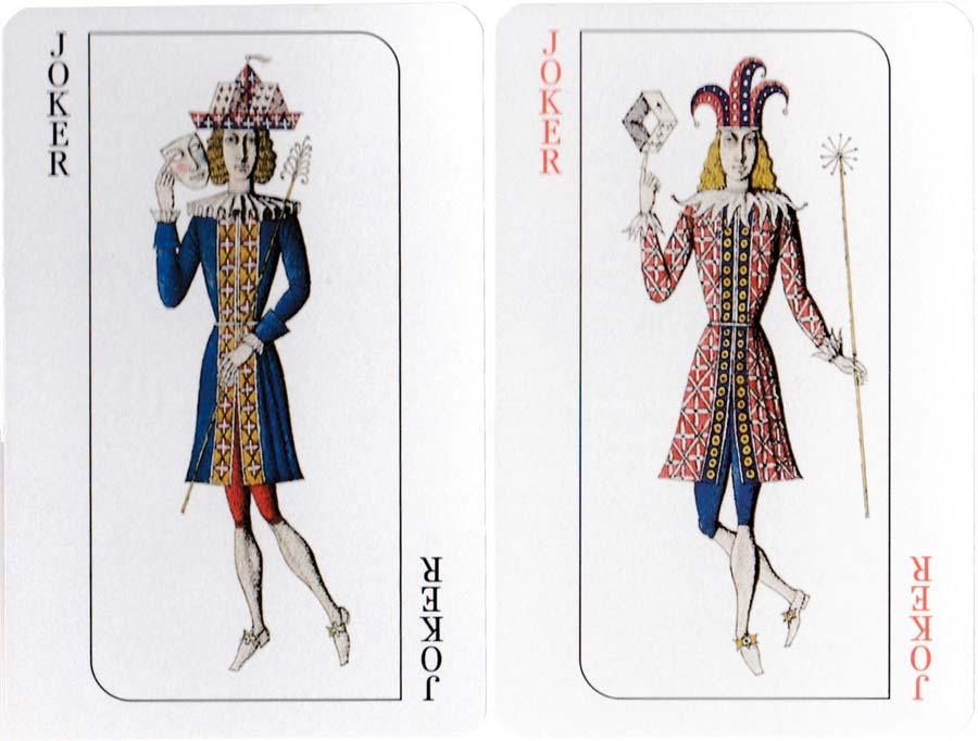 """Cosmopolitan"" № 2121 playing cards designed by Russian artist Valeri Mishin, 1996"