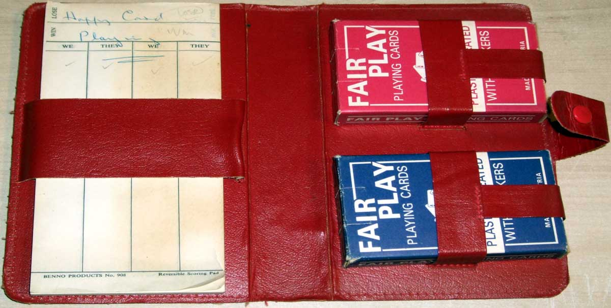 Fair Play budget brand by Piatnik first appeared c.1950 before disappearing c.1990