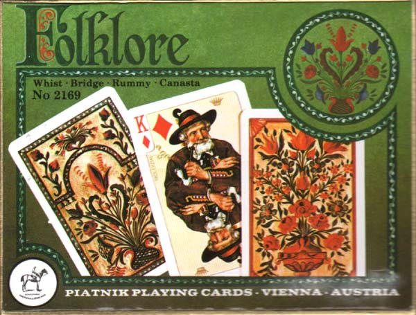 Folklore No.2169 by Piatnik, 1979