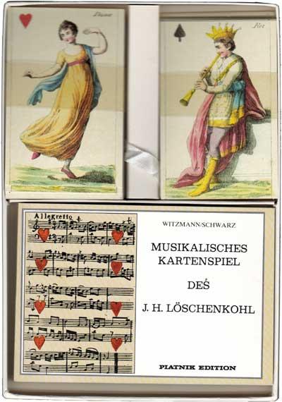 Johann H. Löschenkohl's Musical Playing Cards