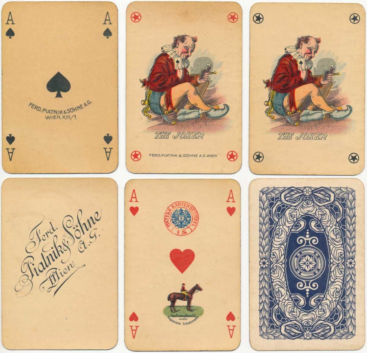 Lyon Pattern by Ferd Piatnik & Söhne A.G., c.1926-1934