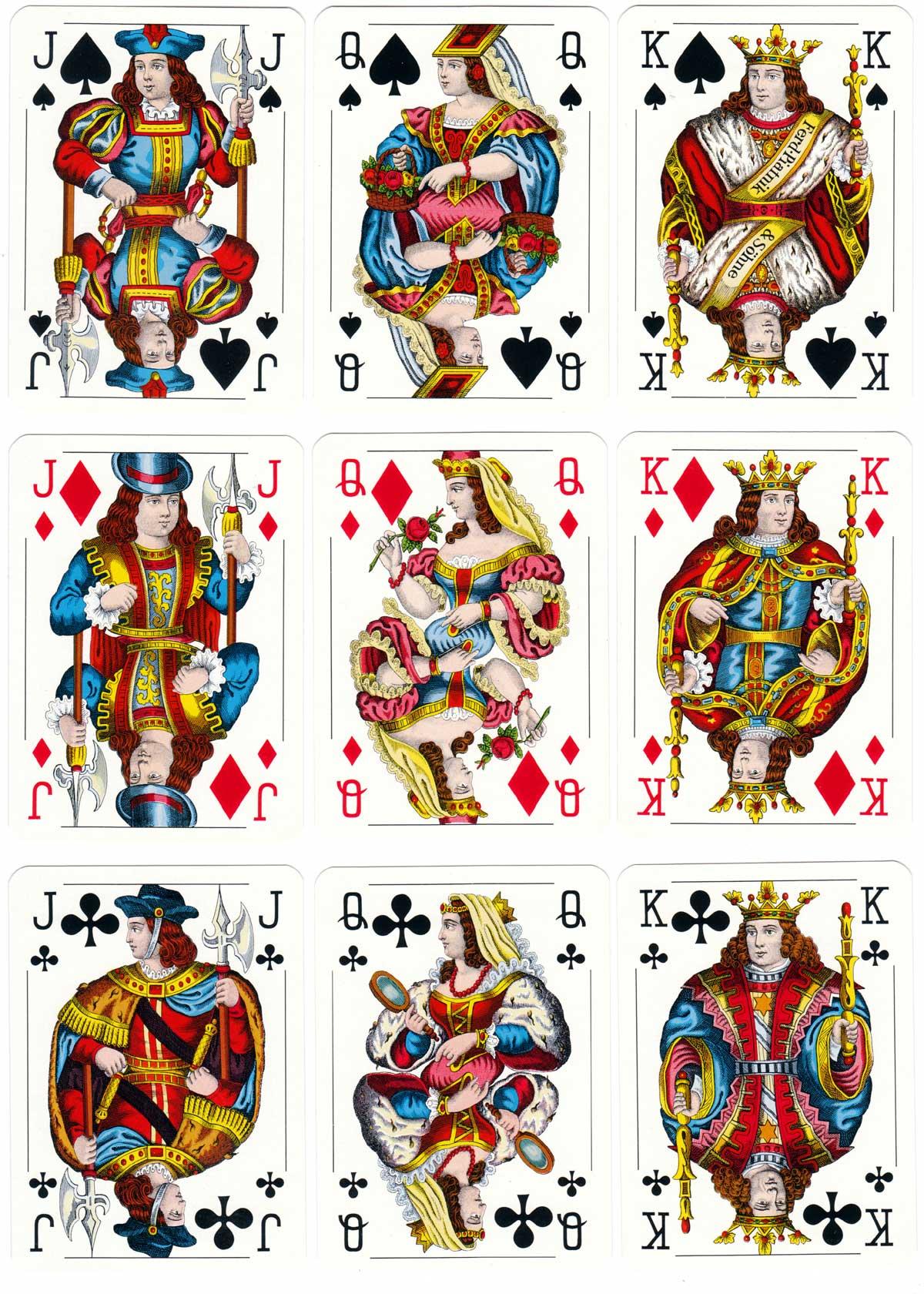Piatnik Small Crown pattern, 1970s