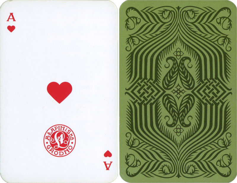 "Belarusian Lapin's playing cards published by ""А4"", 2017"