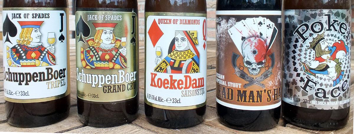 Beer labels, Het Nest Brouwerij, 2021