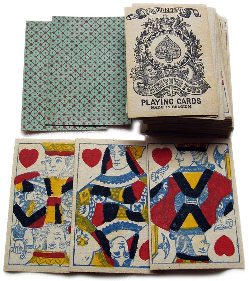 English playing cards, c.1910