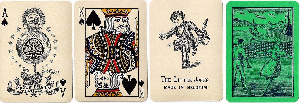 Great Mogul Tennis playing cards, c.1926