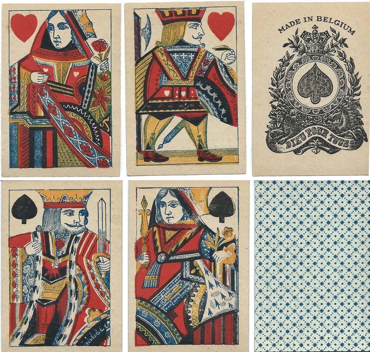 English playing cards, c.1878