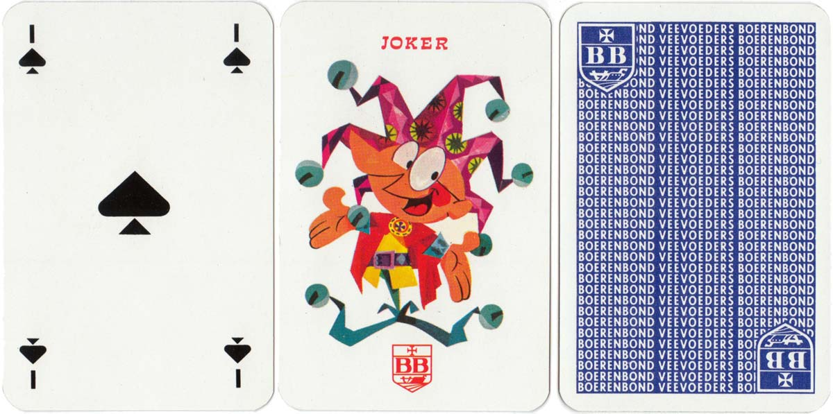 Promotional deck designed by Ray Goossens for Boerenbond farmers' association, c.1968