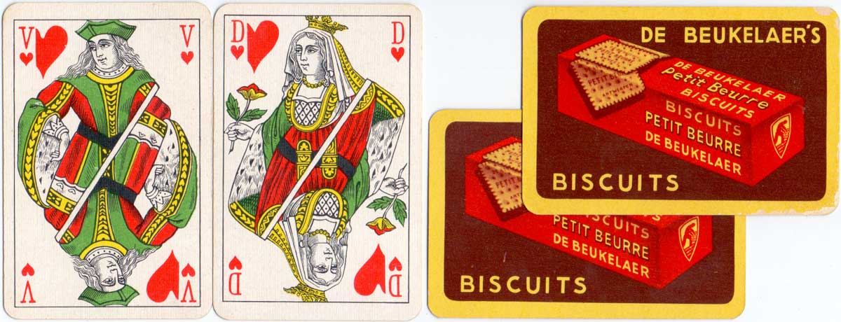 Belgian pattern manufactured by Brepols for De Beukelaer's Biscuits, c.1950