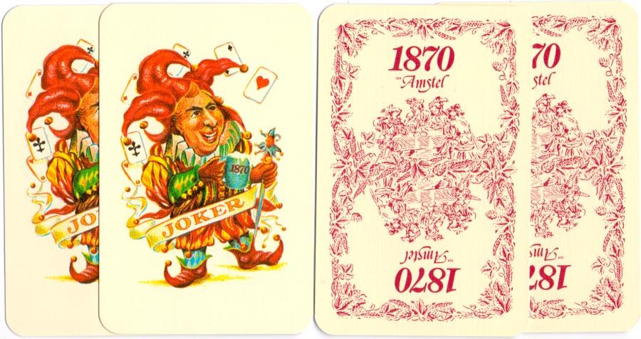 Biermans Cartes de Luxe facsimile by Amstel Beer, c.1980