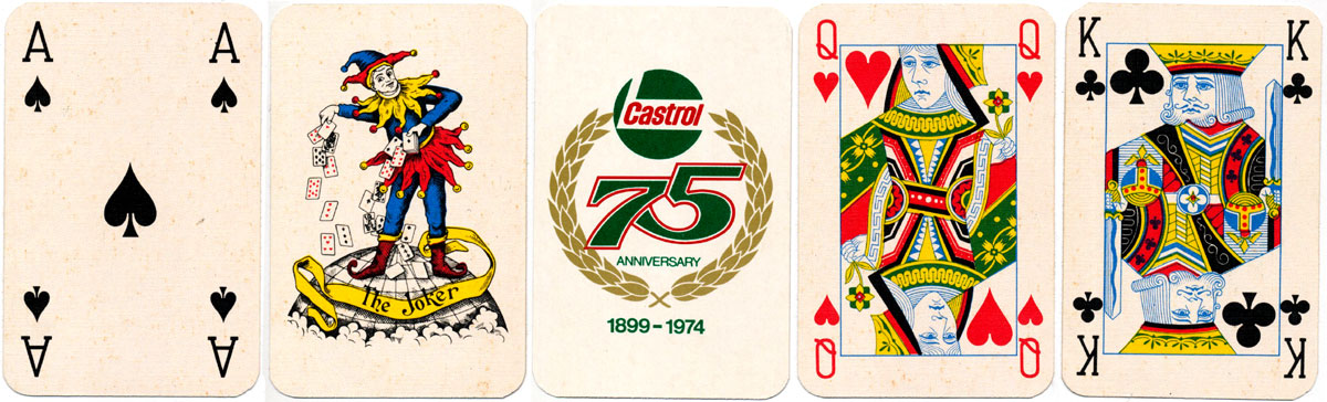 Castrol 75th Anniversary advertising deck from 1974