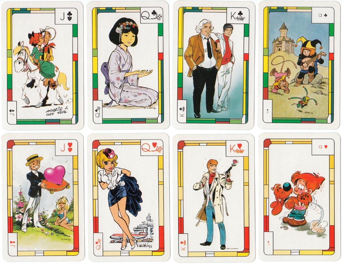 Promotion deck for Fondation Charcot Stichting, Belgium, c.1990