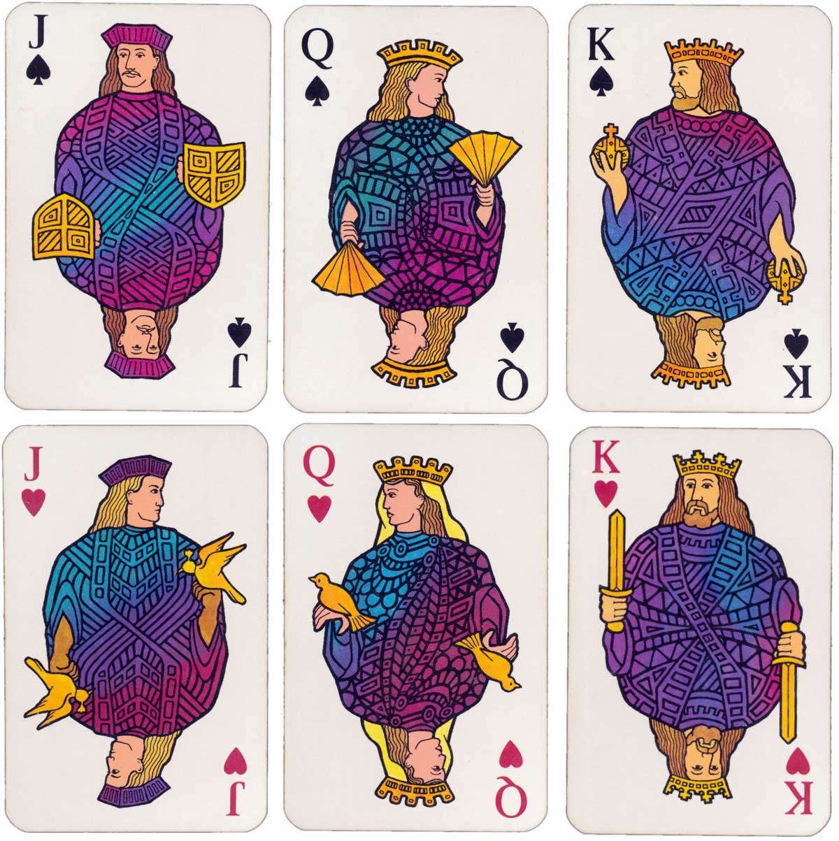 British Airways Concorde playing cards made in Belgium by Carta Mundi, before 2003