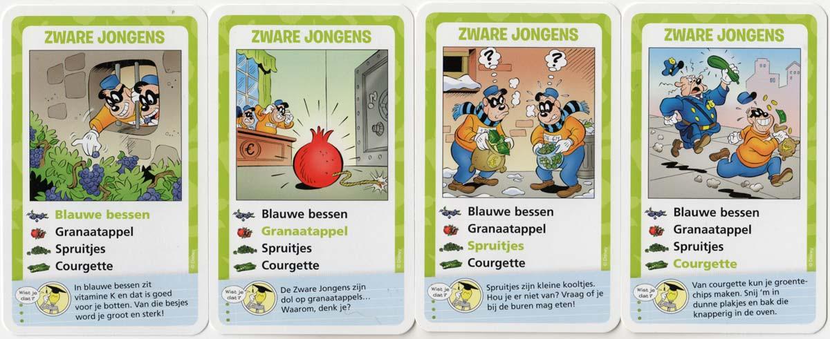 Donald Duck Groente & Fruit Pretkwartet