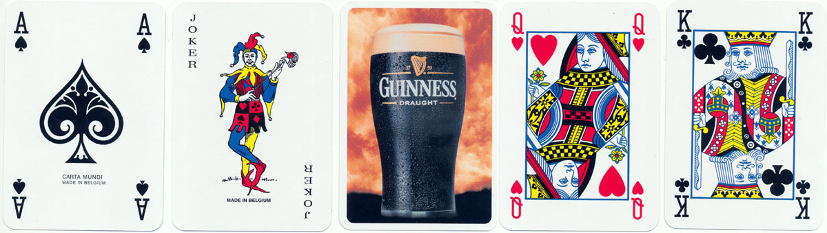 pack made by Carta Mundi for Guinness using the former Biermans joker, c.2002