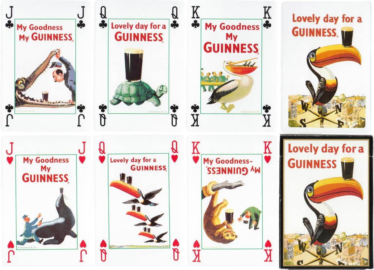 Lovely Day for a Guinness deck for Shamrock Gift Co Dublin. c. 1980