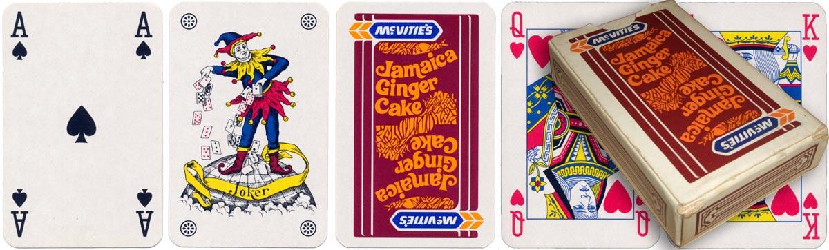 advertising pack for McVitie's Jamaica Ginger Cake