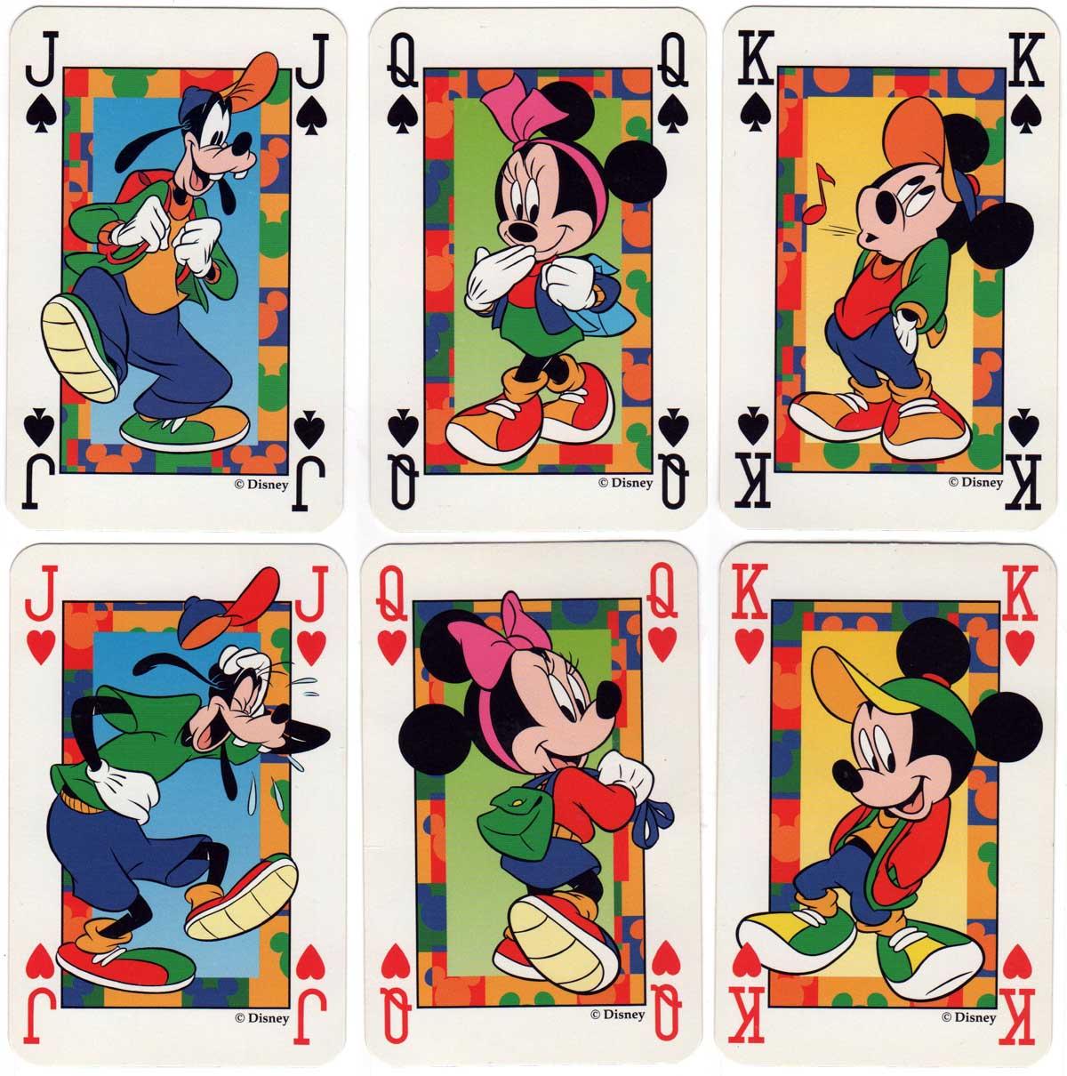 Mickey Kids playing cards from Disney, made by Carta Mundi