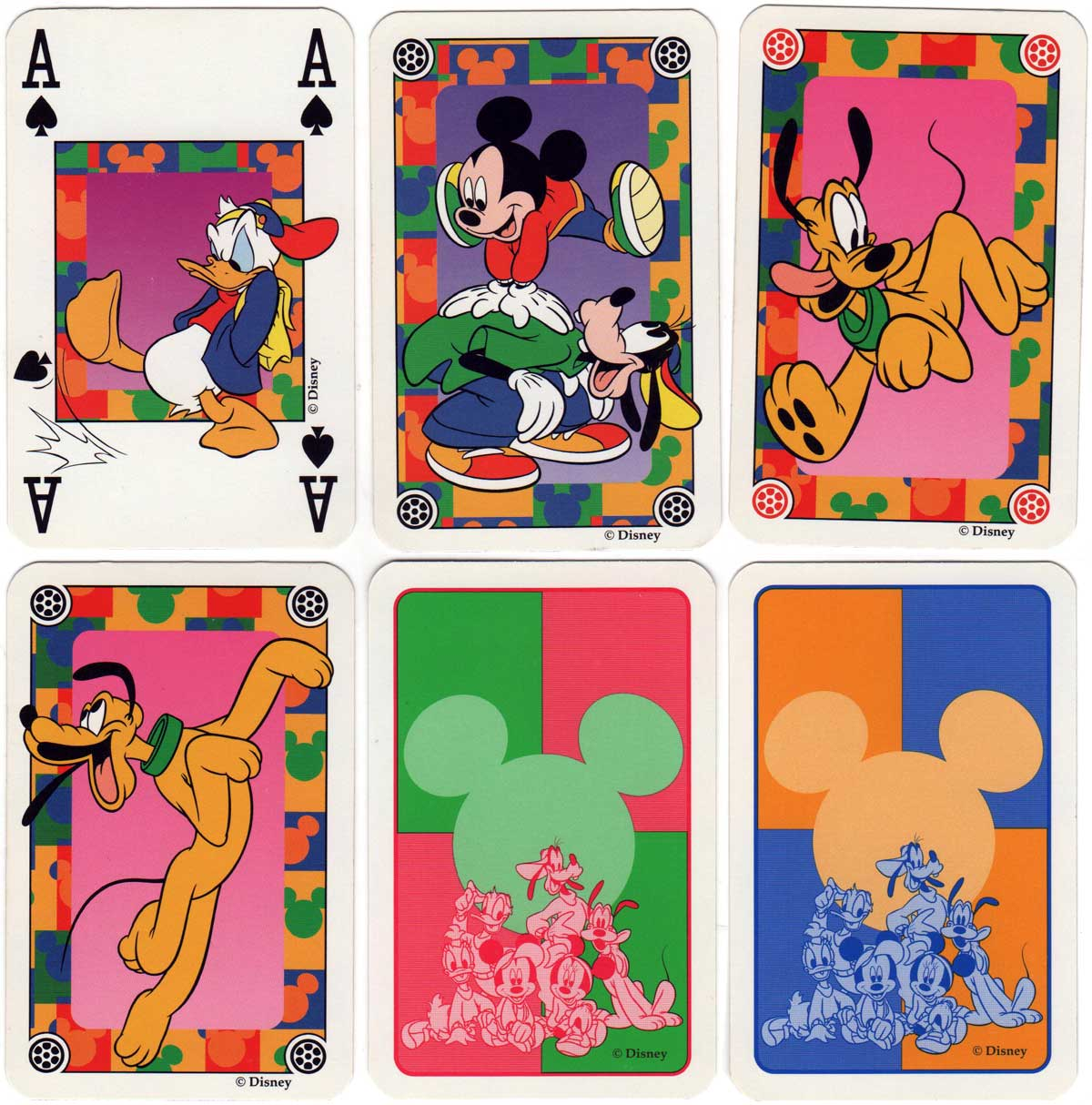 Mickey Kids playing cards from Disney, made by Carta Mundi