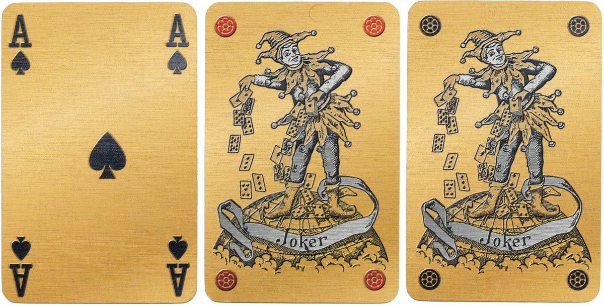 'Millennium' limited edition playing cards by Carta Mundi, 1999