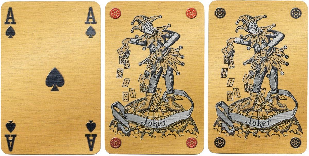 'Millennium' limited edition playing cards by Carta Mundi, 1999