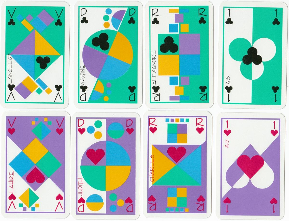 Benedicte Morand-Bail's abstract poker deck