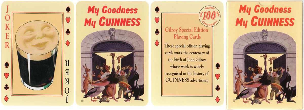 """My Goodness my Guinness"" to commemorate the centenary of the birth of John Gilroy, 1989"