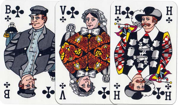 """Noord Brabant"" deck designed by Han Janssen and printed by Carta Mundi in 1992"