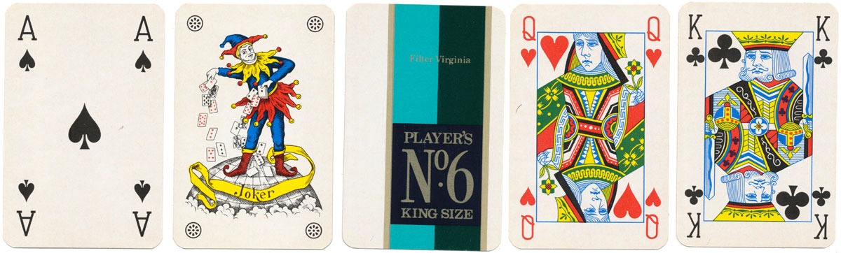 Players No 6 advertising deck from the mid-1970s