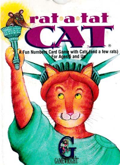 Rat-a-Tat Cat by Gamewright Inc, Boston, 1997