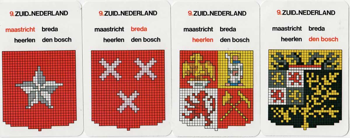 Nederlands Stedenkwartet needlepoint patterns by Permin, c.1970