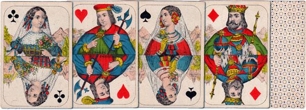 Fantasy designs by Daveluy, Bruges, c.1860