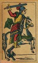 Cavalier of swords