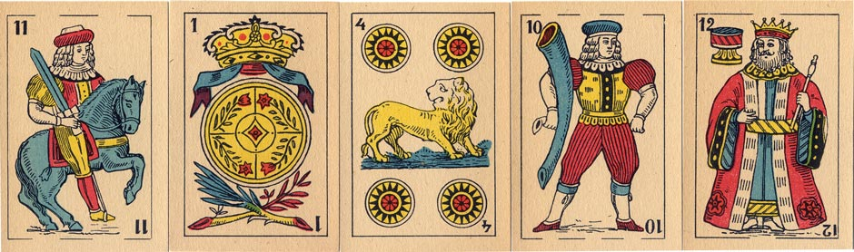 Spanish-Suited Playing Cards, c.1920